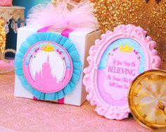 BLUE PRINCESS Party - Princess Signs - Princess