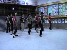 All I want for Christmas is you - line dance - YouTube