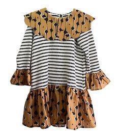 Wolf & Rita Odete Dress In Drops & Dots   Scandi Mini