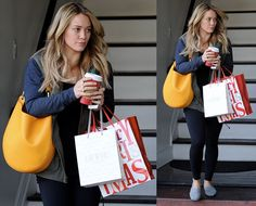 Hilary Duff leaving a salon in West Hollywood, California, on January 3, 2014