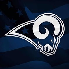 Tonights Rams vs Cowboys game will be the most attended preseason game in NFL tickets sold) Nfl Football Teams, Football Season, Football Helmets, Nfl Rams, Ram Wallpaper, Cowboy Games, St Louis Rams, Nfl History, Old Logo