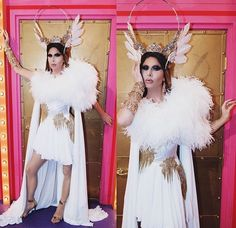Trinity The Tuck Drag Queens, Rupaul, Fascinator, Headpiece, Trinity Taylor, All Stars, Drag King, Runway, Beautiful Women