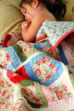 cate's quilt by kelly mccaleb, via Flickr