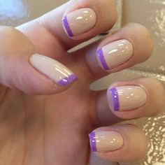 On a French manicure? Radiant!