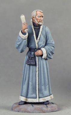 Maester Luwin - George R. Martin Masterworks - Miniature Lines 28mm Miniatures, Fantasy Miniatures, Dungeons And Dragons, Maester Luwin, Tabletop, A Gear, Mini Games, Miniture Things, Love Painting