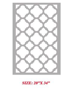Printable Moroccan Stencils   Printable Moroccan Stencils   Feather MY Nest