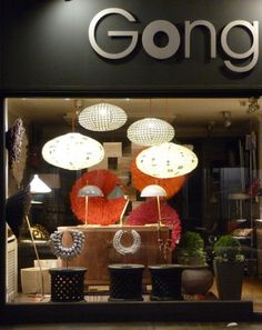 GONG, Light and decoration store in London http://www.gong.co.uk/