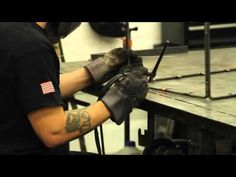 TIG welding is an arc welding process that uses a non-consumable tungsten electrode to produce the weld.It is a manual welding process that requires the welder to use two hands to weld. In fact, what separates TIG welding from most other welding processes is the way the arc is created and how the filler metal is added. When #TIG #Welding, one hand is used to hold the TIG torch that produces the arc and the other hand is to add the filler #metal to the #weld joint.   #metal #fabrication