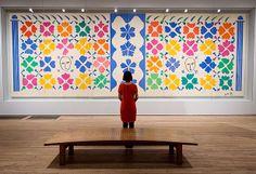 """La exposición """"Henri Matisse: Recortes"""", presentada en la Tate Modern de Londres, abrirá el 17 de abril y cerrará el 7 de setiembre. Se centra en los trabajos hechos por el pintor, dibujante y escultor entre lo años1937 y 1954."""