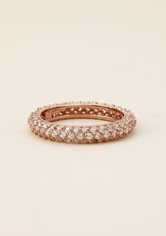 rose gold pave band | sylvia with love- rose gold pave thin band | someday...