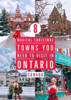 Christmas Town, Christmas Travel, Magical Christmas, Holiday Travel, Christmas Events, Xmas, Cool Places To Visit, Places To Travel, Travel Things