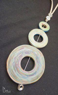 Circles - Polymer clay, polymer clay | UCHI