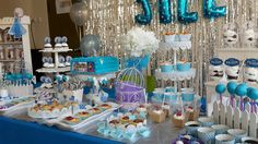 Foto 6/7 Frozen Party (Sweet Corner Themed) #sweetcorner #sweettable #frozenparty #frozensweetcorner #birthdayparty