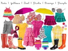 what to wear brights