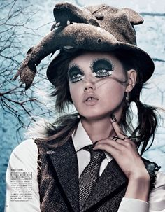 Lindsey Wixson by Giampaolo Sgura.