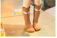 Cute Cotton Cartoon Long Socks Do you love it?