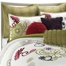 Hayley Mini Comforter Set, 100% Cotton