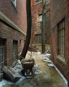 Image result for detroit alley