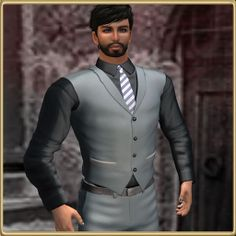 Wall Street with Vest2 by Bravura! Homme - be smart. look smart., via Flickr