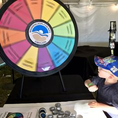 Stop by the Washington County Fair booth to spin-the-wheel and have some @BigFairFun! Read more about the Prize Wheel at https://PrizeWheel.com/blog/.