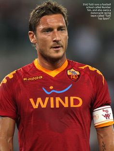 Francesco Totti.... Can't beat him! Never be another like him! Grazie capitano