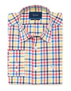 Club Fit - Multi Gingham Check