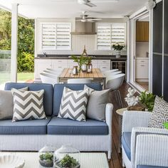 BACKYARD INSPIRATION  Do you fancy up your back patio area, this looks like a lovely place to relax. Our outdoor area has room for an outdoor sofa (one day) image credit @houzzau #backyard #relax #theorganisedhousewife #style #stylish #home #homeinspo #homedesign