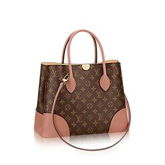 LOUIS VUITTON Flandrin. #louisvuitton #bags #canvas #leather #lining #metallic #shoulder bags #hand bags #