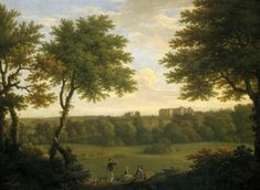 View of Copped Hall from the Park, 1746. George Lambert & Francis Hayman