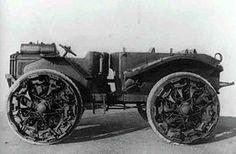 A Pavesi model 26 artillery tractor