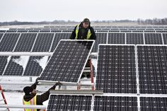Heartland Power Cooperative Solar Panel Installation