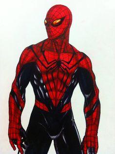 Spider Man the Black Widow by In5an1ty on DeviantArt