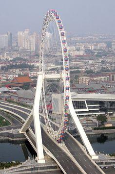 Eye Bridge. Tianjin 83