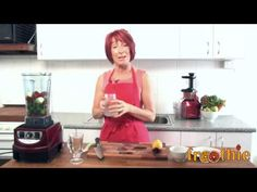 Apple and Beetroot Smoothie in your Optimum 9400 on Getting into Raw cooking with Zane