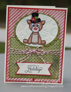 Card by JoAnn using Verve Stamps.  #vervestamps