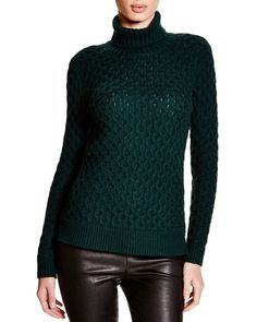 C by Bloomingdale's Cable Knit Turtleneck Sweater from Bloomingdale's on Catalog Spree
