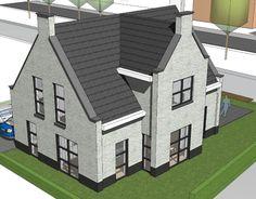 Villa, Modern Barn, House Rooms, My Dream Home, Farmhouse Style, Beautiful Homes, Beach House, House Plans, New Homes