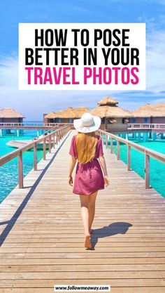 travel photos How to pose better in - How To Pose For Pictures, How To Take Photos, Taking Pictures, Poses Photo, Photo Tips, Picture Poses, Photo Ideas, Travel Pose, Travel Tips