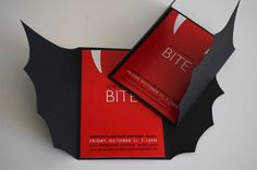 Vampire Invitation for Halloween or Costume Party by nickeldesign, $90.00