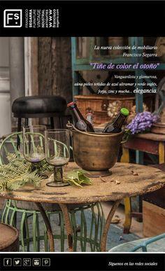 Vanguardia y glamour en la nueva colección de muebles de Francisco Segarra.