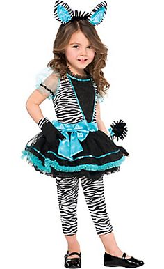 Little Zebra Costume for Girls | gifts for Katie | Pinterest | Zebra costume Costumes and Halloween costumes  sc 1 st  Pinterest & Little Zebra Costume for Girls | gifts for Katie | Pinterest | Zebra ...