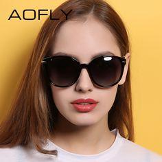 d3c2ea84e9e AOFLY Fashion Lady Sun glasses New Polarized Women Sunglasses Vintage Alloy  Frame Classic Brand Designer Shades