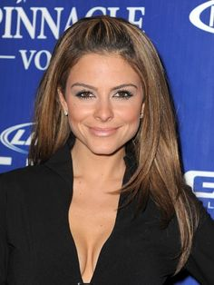 How Maria Menounos Trims Her Own Hair—and More Beauty Tricks!