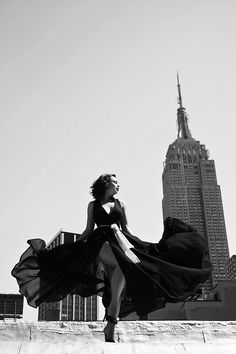 "anastasiaarteyeva: "" By Gregory Prescott. Empire State and me."