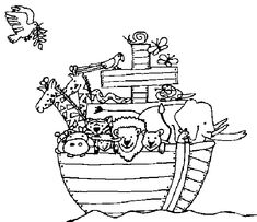 Free Printable Noahs Ark Coloring Pages For Kids