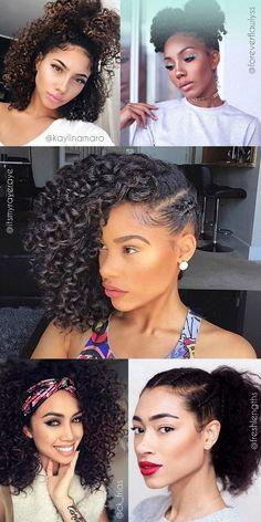 Penteados para cabelos cacheados e crespos dia a dia - amazing curly hairstyles for curly girls - ohlollas   - cabelos naturais ondulados cacheados crespos com fotos reais do instagram. Penteados para madrinhas de casamento, para formatura e festas.