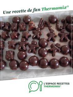 Chocolats maison croustillants par conseillèremélanie. Une recette de fan à retrouver dans la catégorie Pâtisseries sucrées sur www.espace-recettes.fr, de Thermomix®.