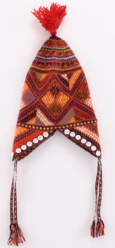 Peruvian Handknitted, Beaded-Trim Hat for Kids - ClothRoads #inspiration