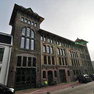industrial heritage, former warehouse Hartelust, Romkeslaan, Leeuwarden, the Netherlands