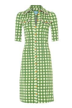 Tante Betsy dress: Happy Green